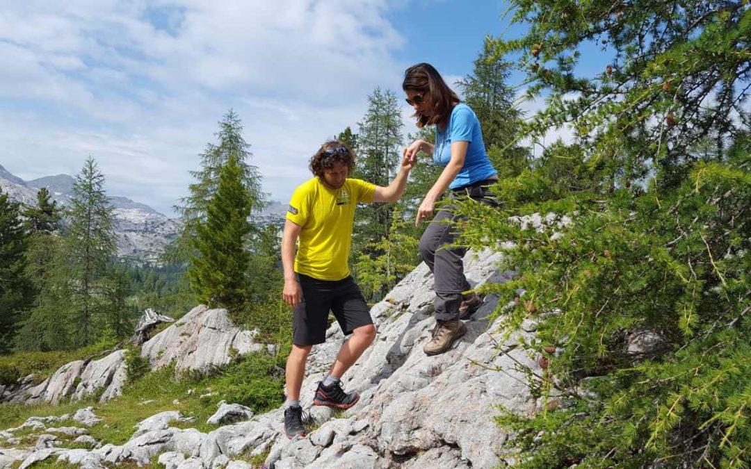 Video-Tutorials zum richtigen Wandern im alpinen Gelände