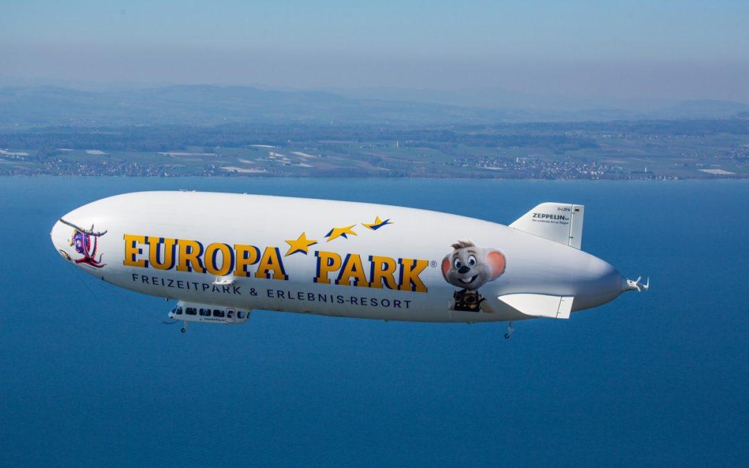 Europa Park-Zeppelin hebt wieder ab zu Bodensee-Touren