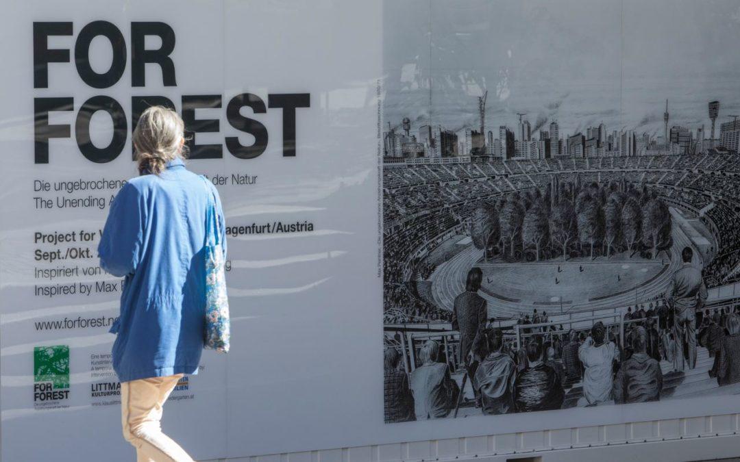 Klagenfurt: Fußballstadion wird zum Schauplatz der Kunst