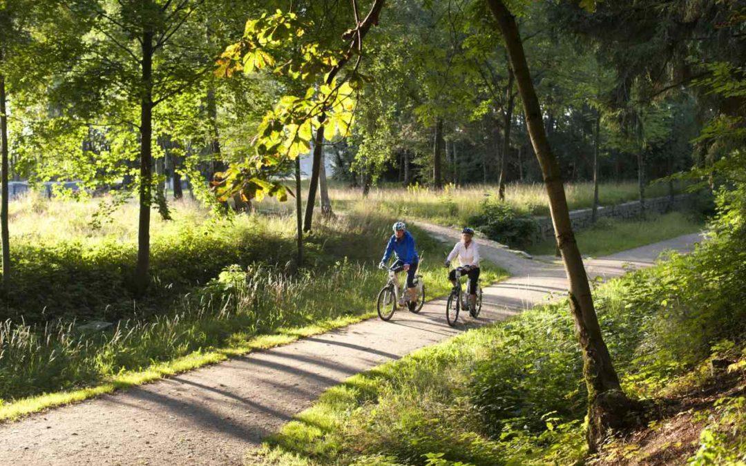 Broschüre für Wirtshausradtouren im Fichtelgebirge