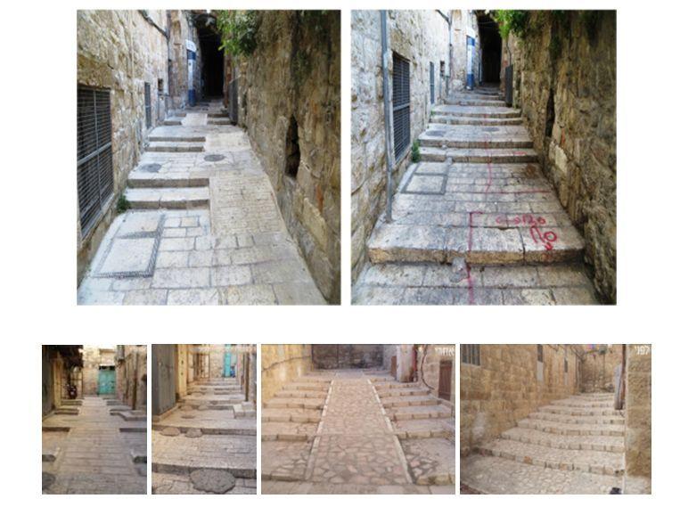 Neue barrierefreie Wege durch die Altstadt von Jerusalem