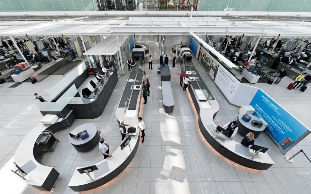 Flughafen München testet schnellere Sicherheitskontrolle