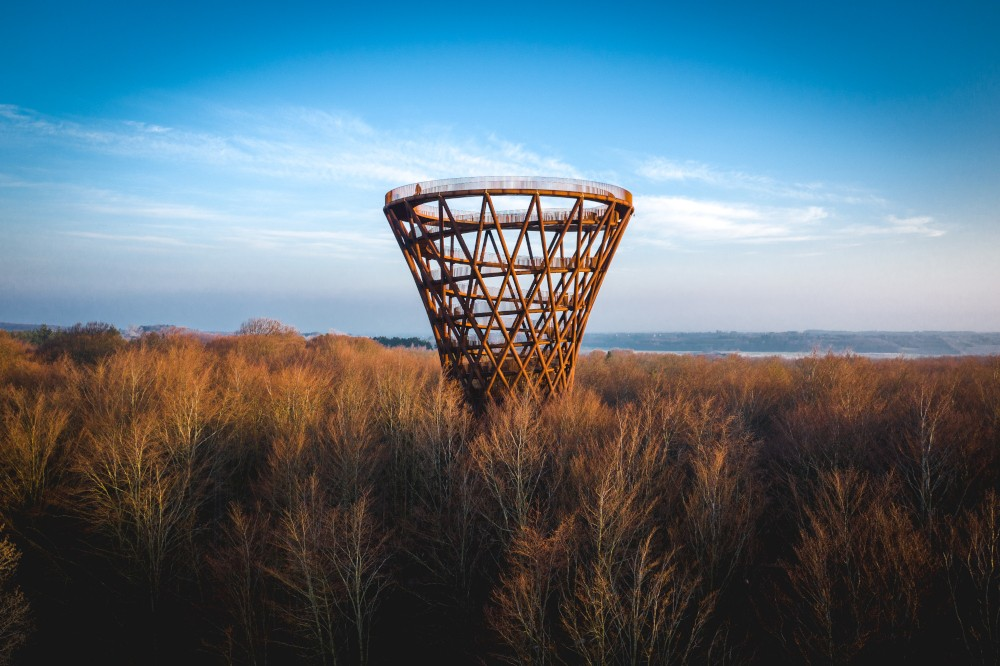 Dänemark: 45 Meter hoher Aussichtsturm auf Seeland eröffnet