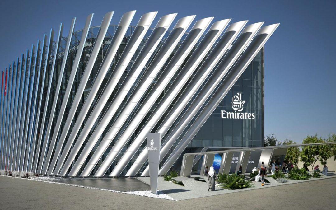 Emirates-Pavillon für die Expo 2020 in Dubai vorgestellt
