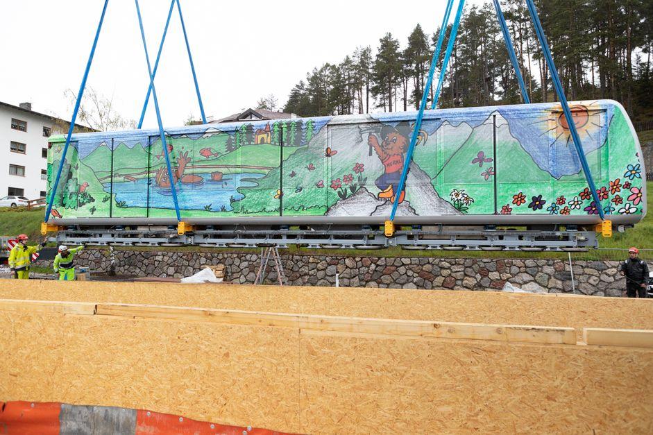 U-Bahn Serfaus erhält neue Waggons
