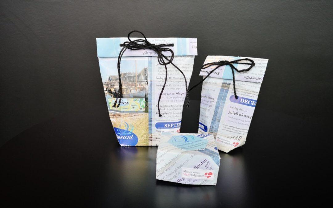 Gemeinde Holstebro verwandelt Tourismusbroschüren in Geschenkboxen