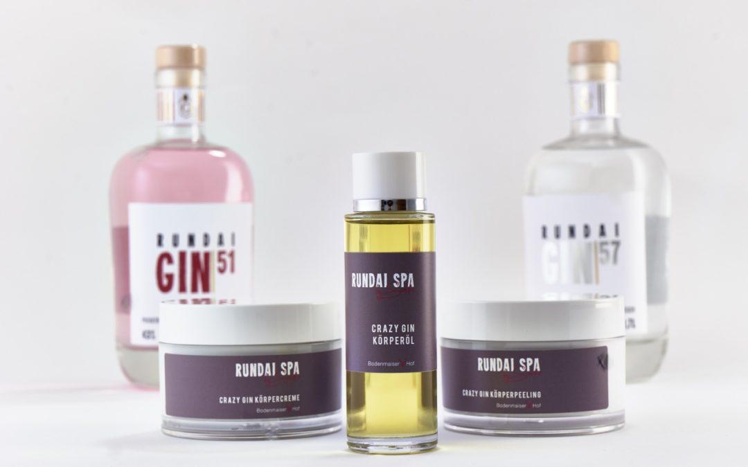 Neue Gin-Pflegeserie für schönere Haut im Bodenmaiser Hof