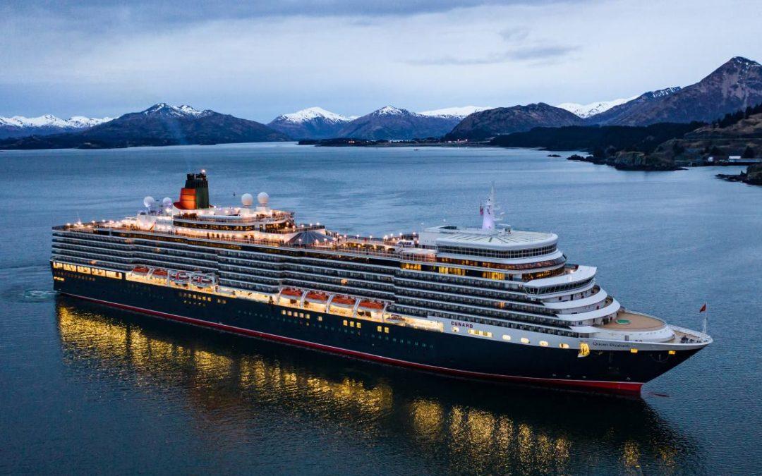 Cunard verdoppelt 2020 das Alaska-Programm mit der Queen Elizabeth
