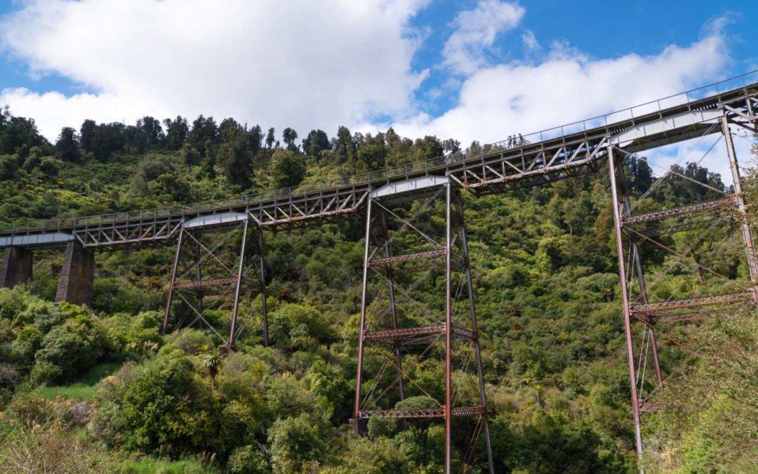Über das längste Viadukt der südlichen Hemisphäre radeln