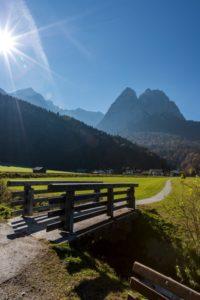 Spitzenwanderweg in der Zugspitz Region