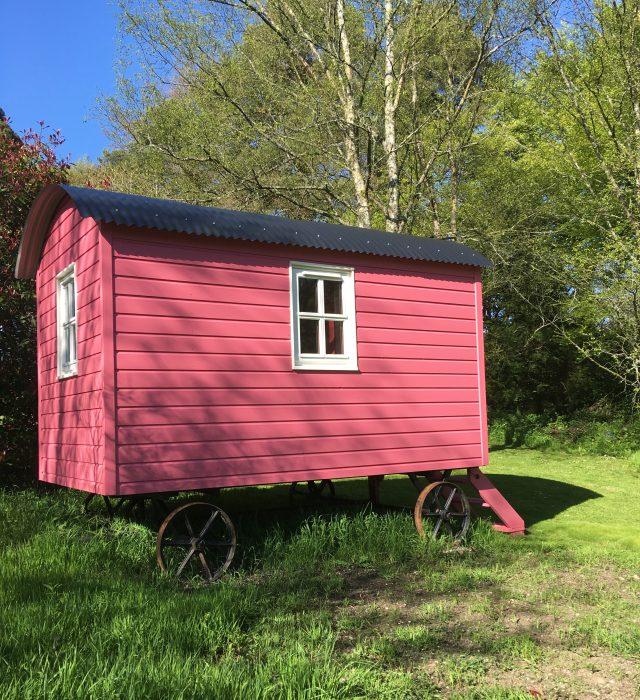 Wohnwagen Shepherd Hut in County Carlow