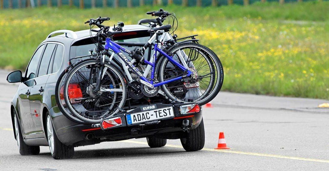 ADAC Fahrradträgertest 2019 mit durchwachsenen Ergbnissen