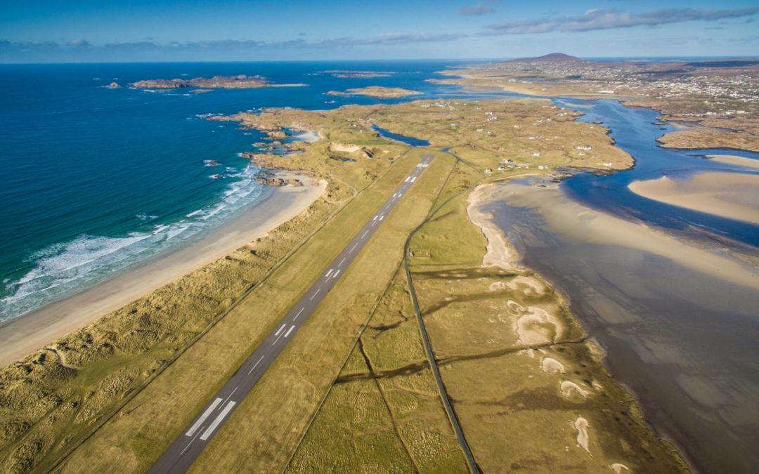 Irland: Donegal Airport bietet spektakulärsten Landeanflug