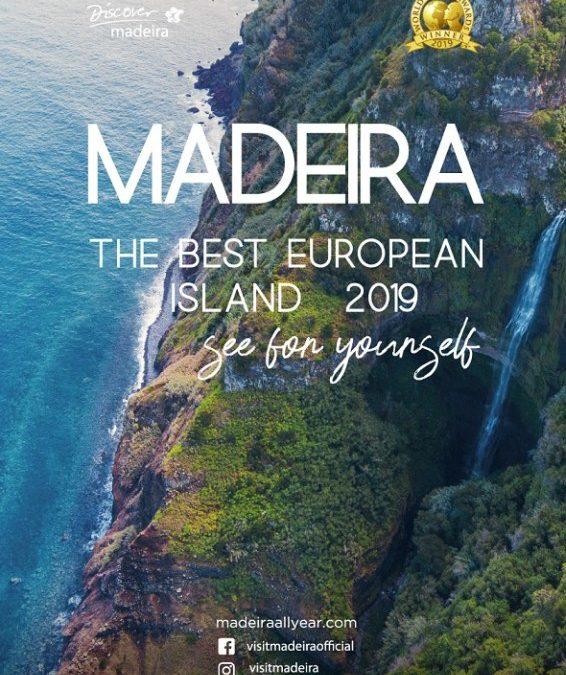 World Travel Award 2019 als beste europäische Insel für Madeira