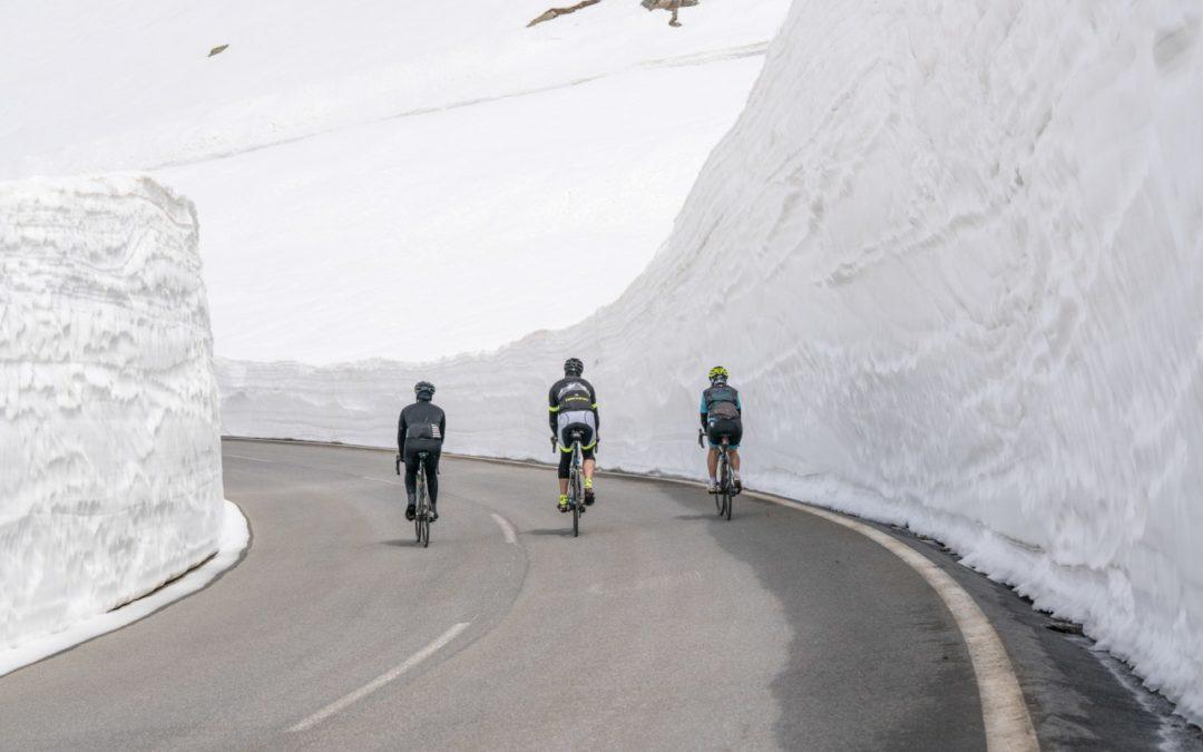 Timmelsjoch Hochalpenstraße für Ötztaler Radmarathon 2019 präpariert