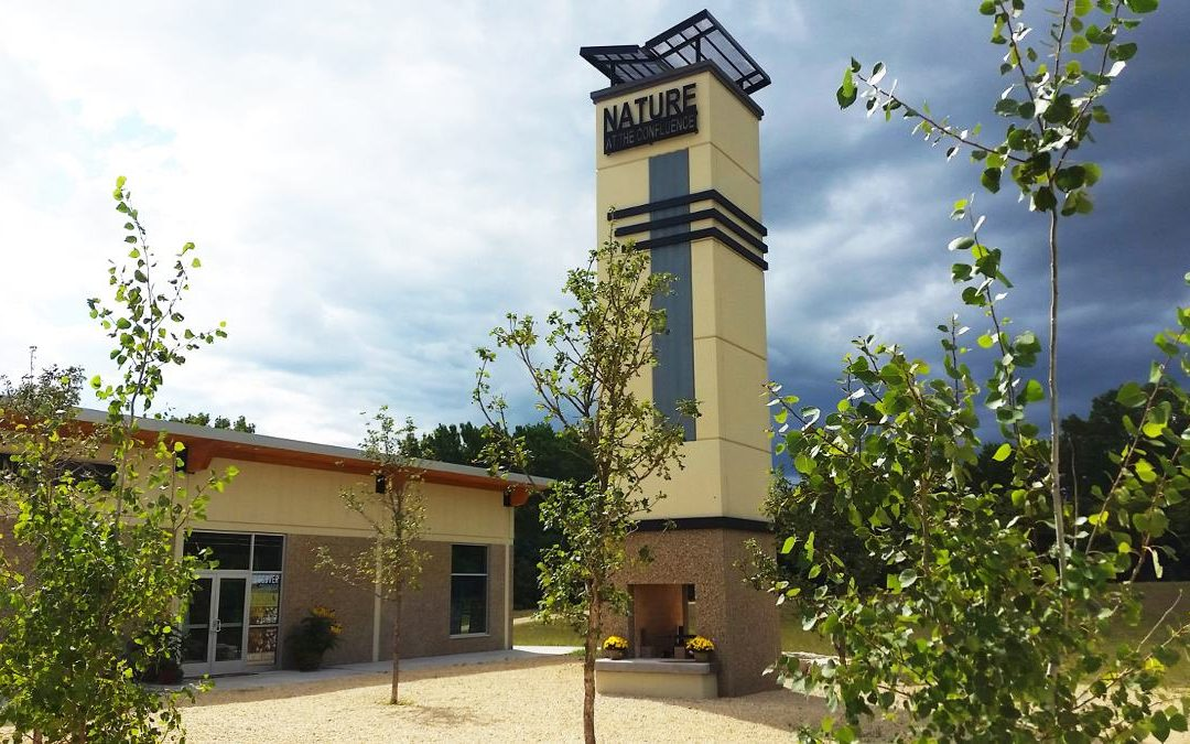 Neues Besucherzentrum für den Rock River Trail in Illinois