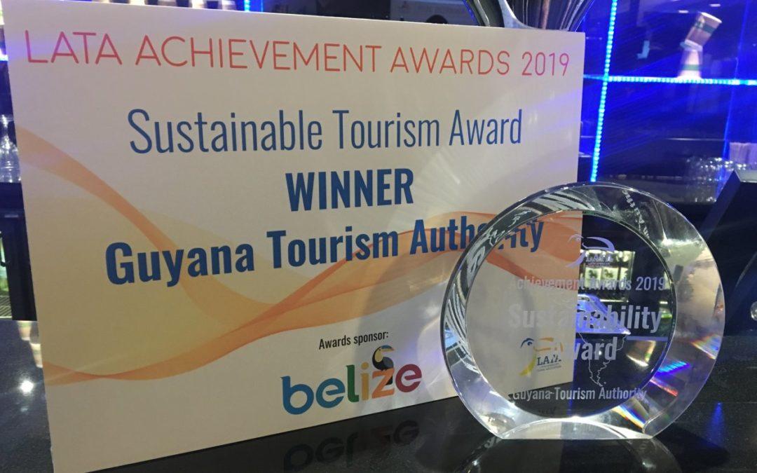 """Guayana mit Eco-Preis auf der """"Experience Latin America"""" ausgezeichnet"""
