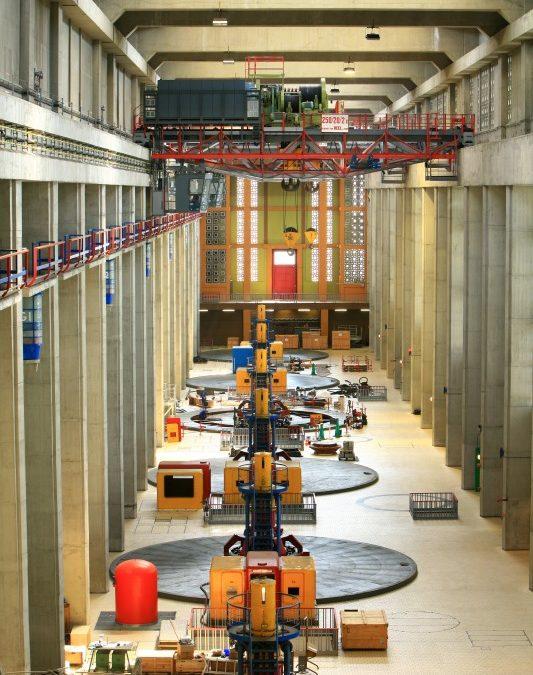 Wasserkraftwerk Bollène jetzt auch für Besucher geöffnet