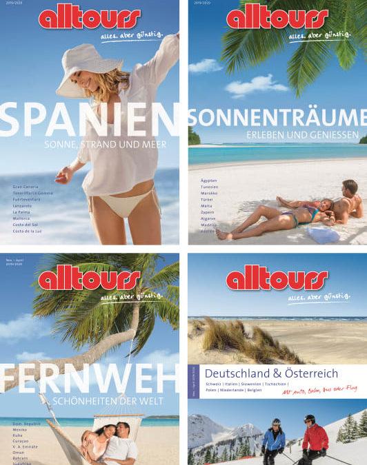 alltours präsentiert Kataloge für die Wintersaison 2019/2020