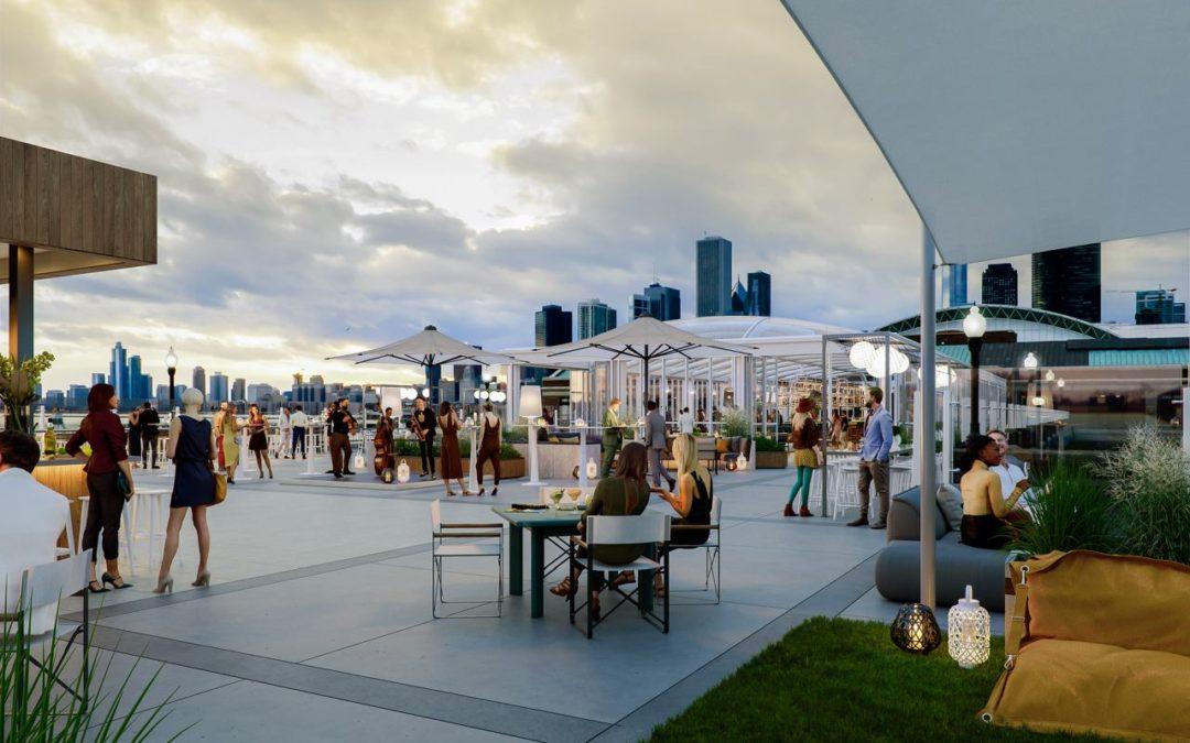Chicago: größte Rooftop Bar der Welt auf dem Dach des Navy Pier