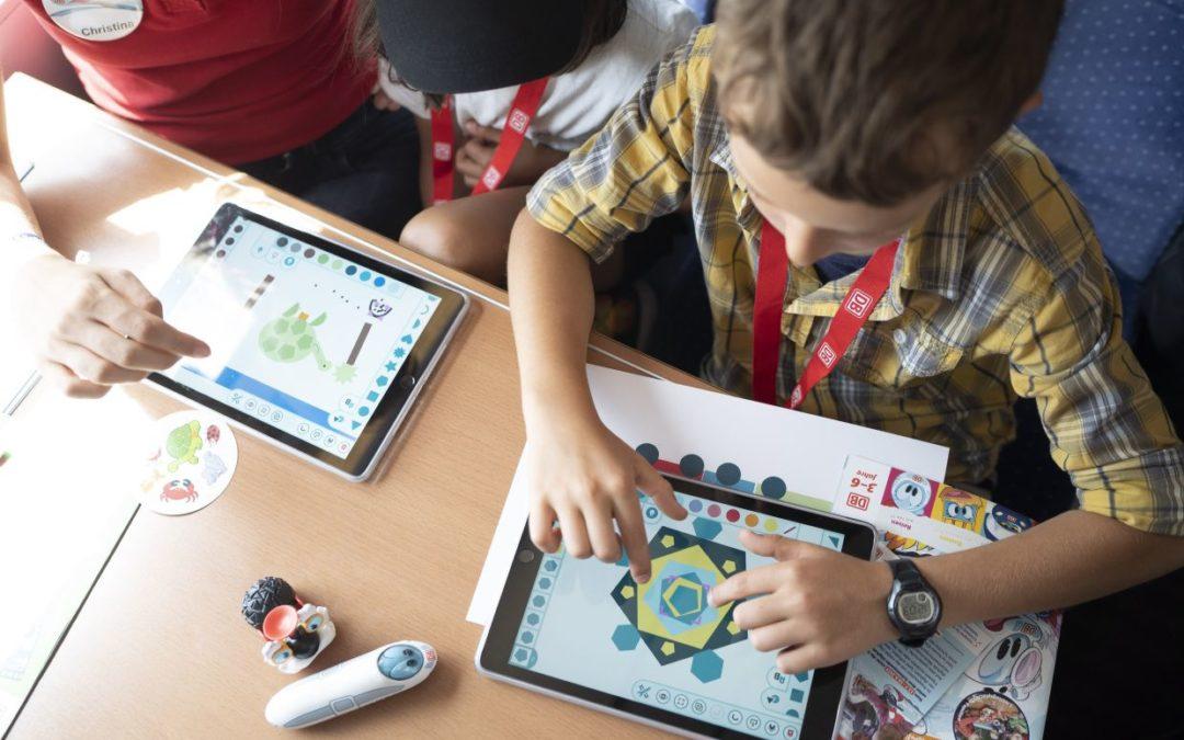 Digitale Workshops für Kinder in Zügen der Deutschen Bahn