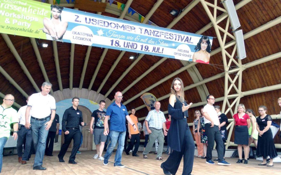 Workshops mit Ekaterina Leonova beim Tanzfestival 2019 auf Usedom