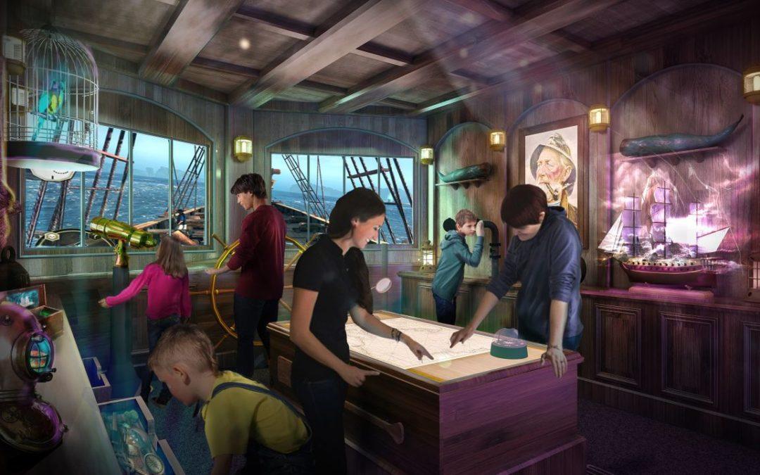 """Phantom Bridge"" – erstmals Escape Room-Spiel bei Princess Cruises"