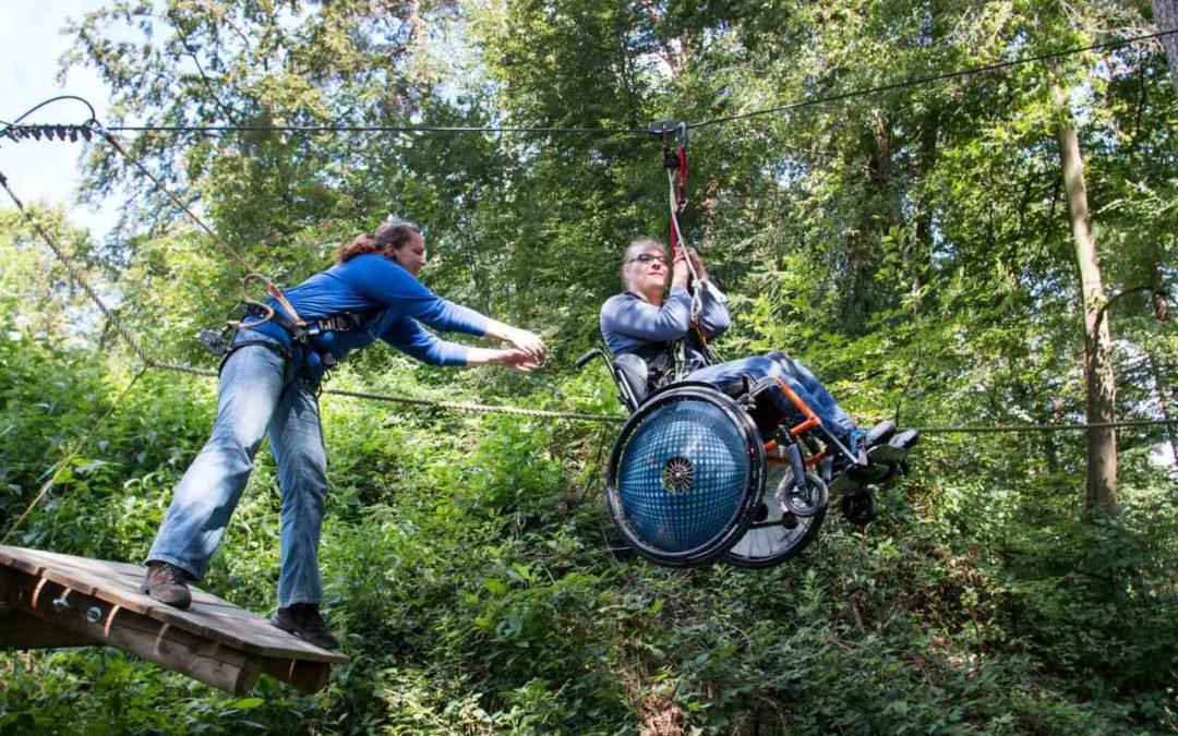 Outdoor-Aktivitäten für Menschen mit Handicap im Nürnberger Land