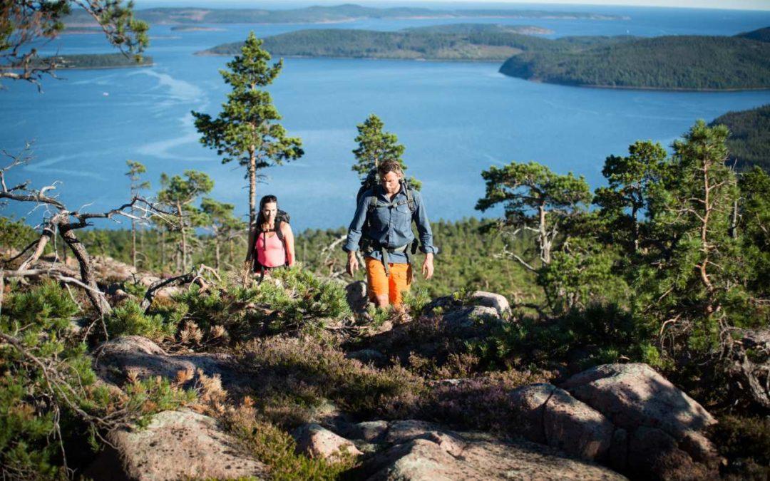 Ausgewählte Wanderwege vom schwedischen Touristenverein STF