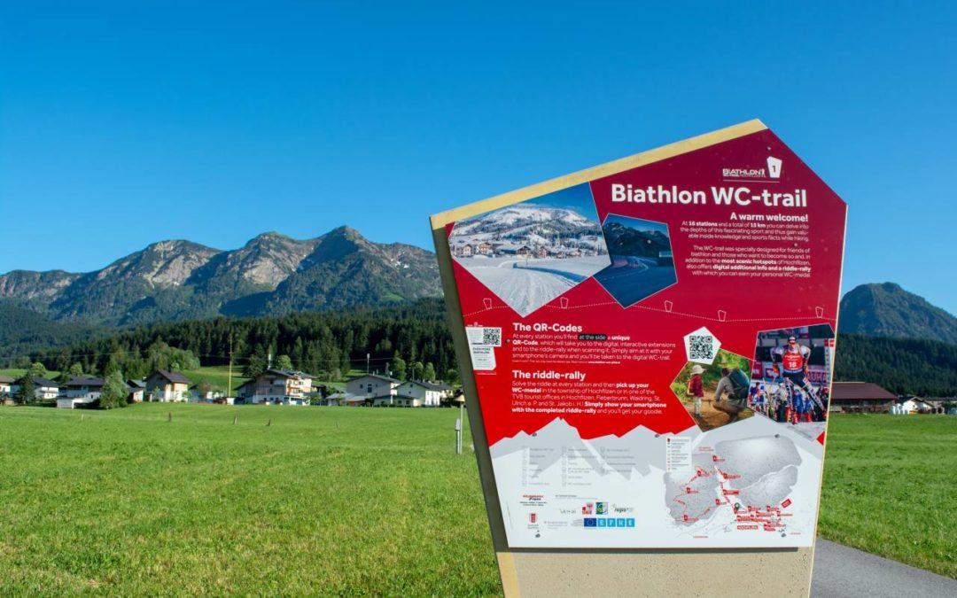 Neuer Rundwanderweg zu den Hotspots der Biathlon-Hochburg Hochfilzen