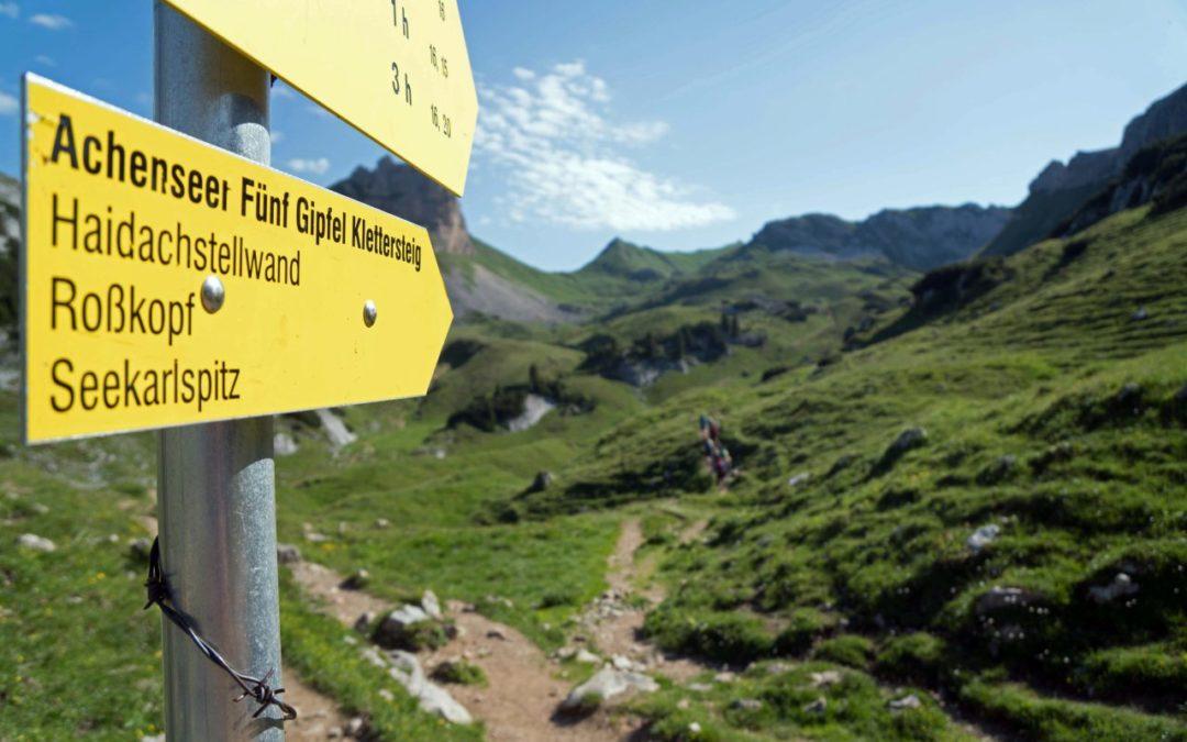 Achensee: Klettersteigcamps 2020 ab sofort buchbar