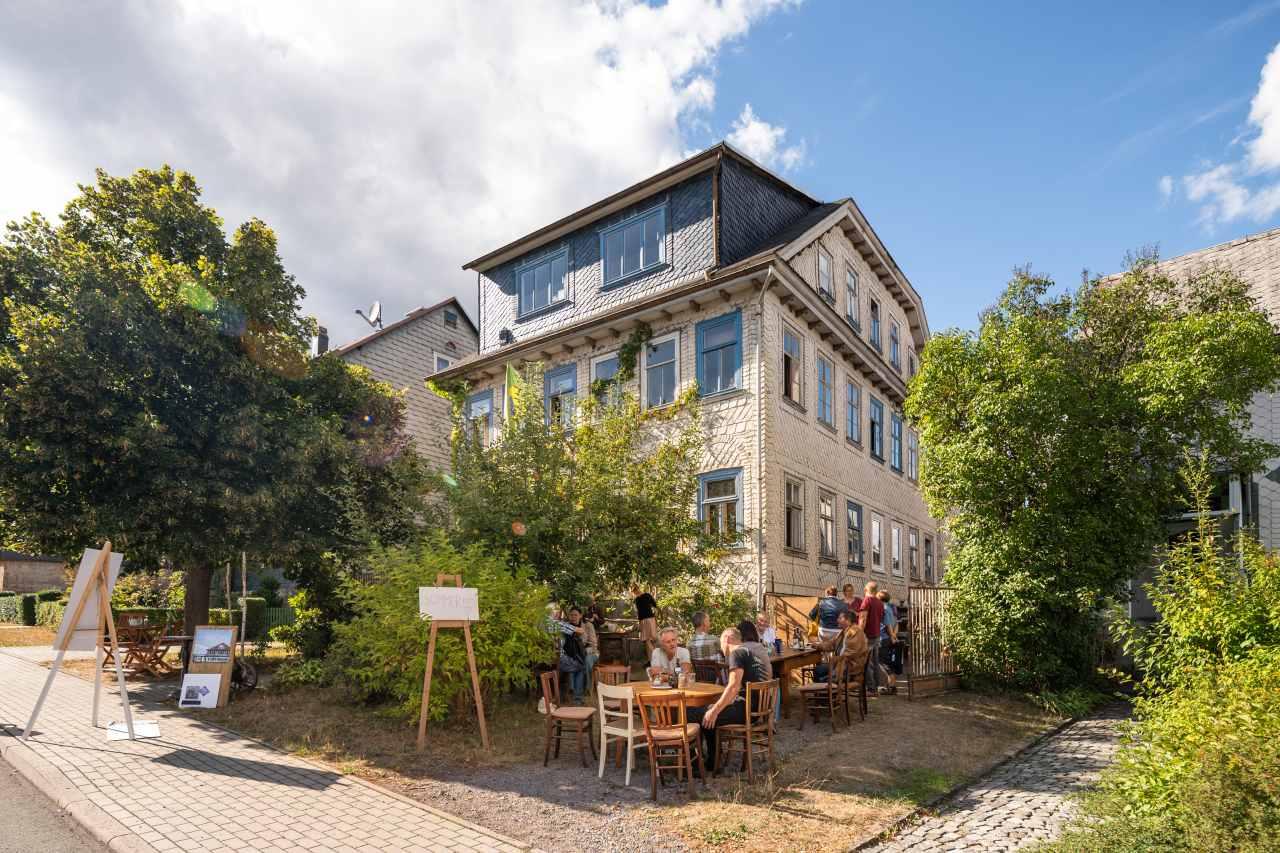 Hotel aus der Zeit der Sommerfrische-Architektur
