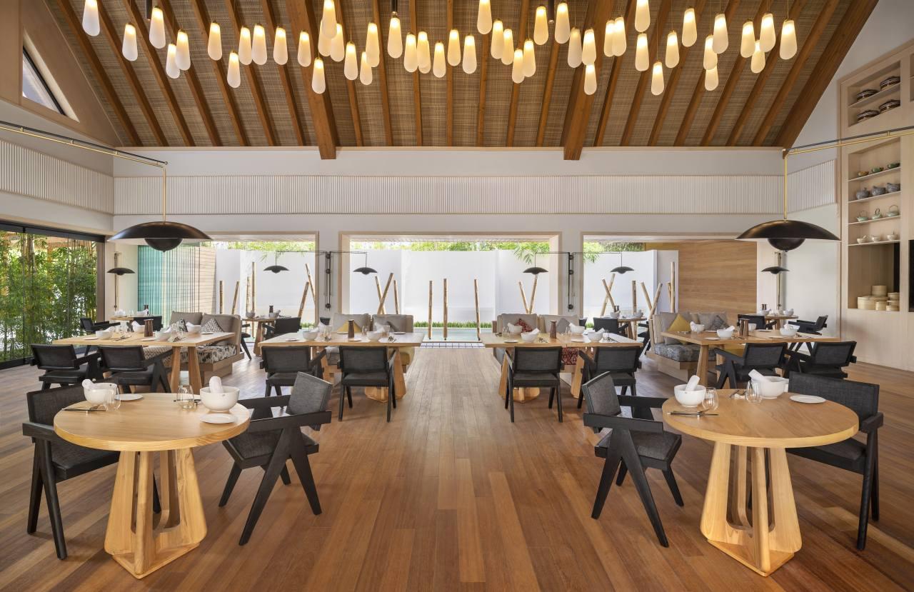 Restaurant Tangled im Waldorf Astoria Maldives