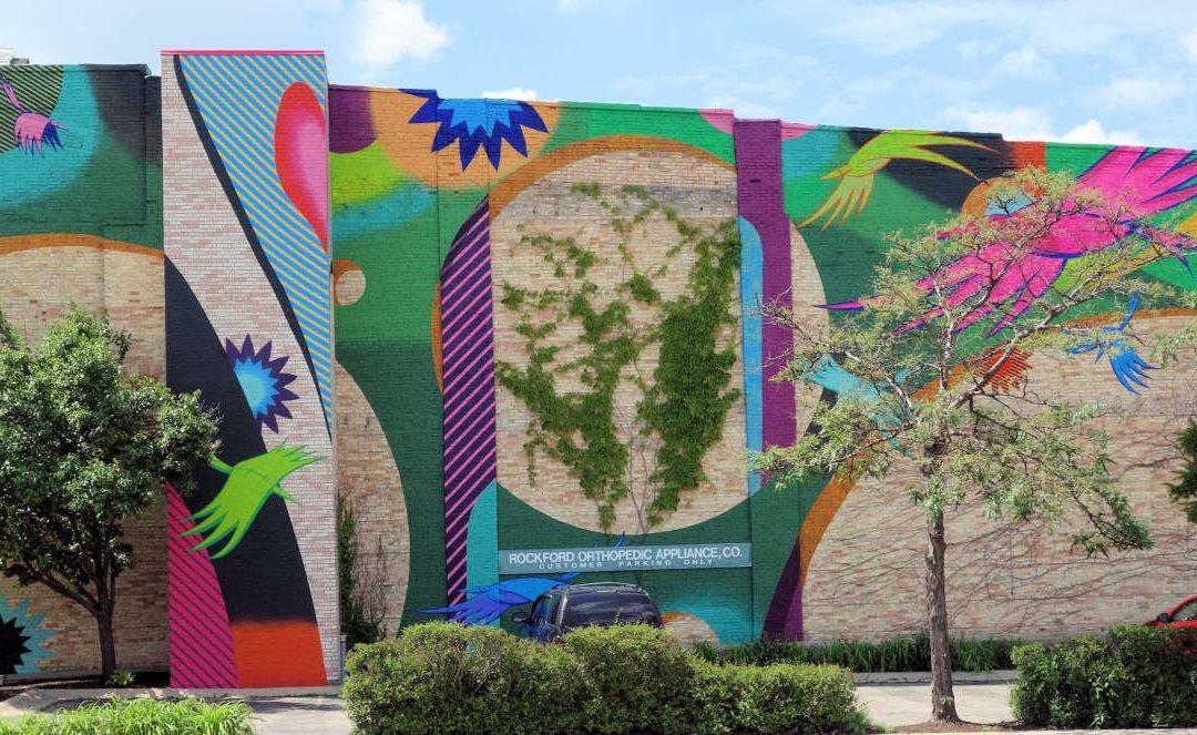 Großformatige Wandbilder bereichern Innenstadt von Rockford