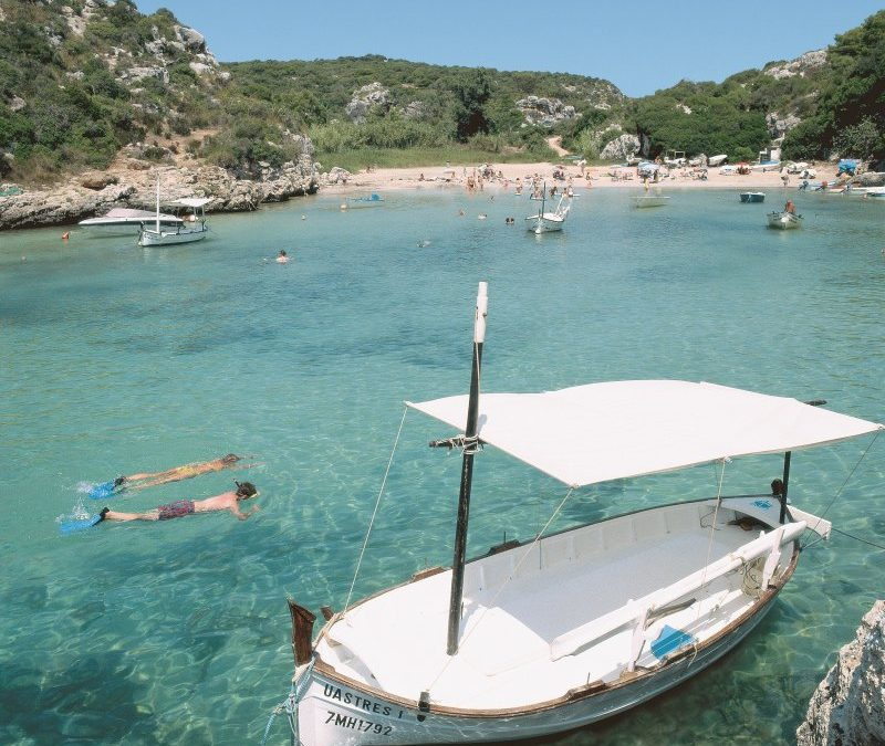 Familienurlaub im Herbst im Grupotel Mar de Menorca