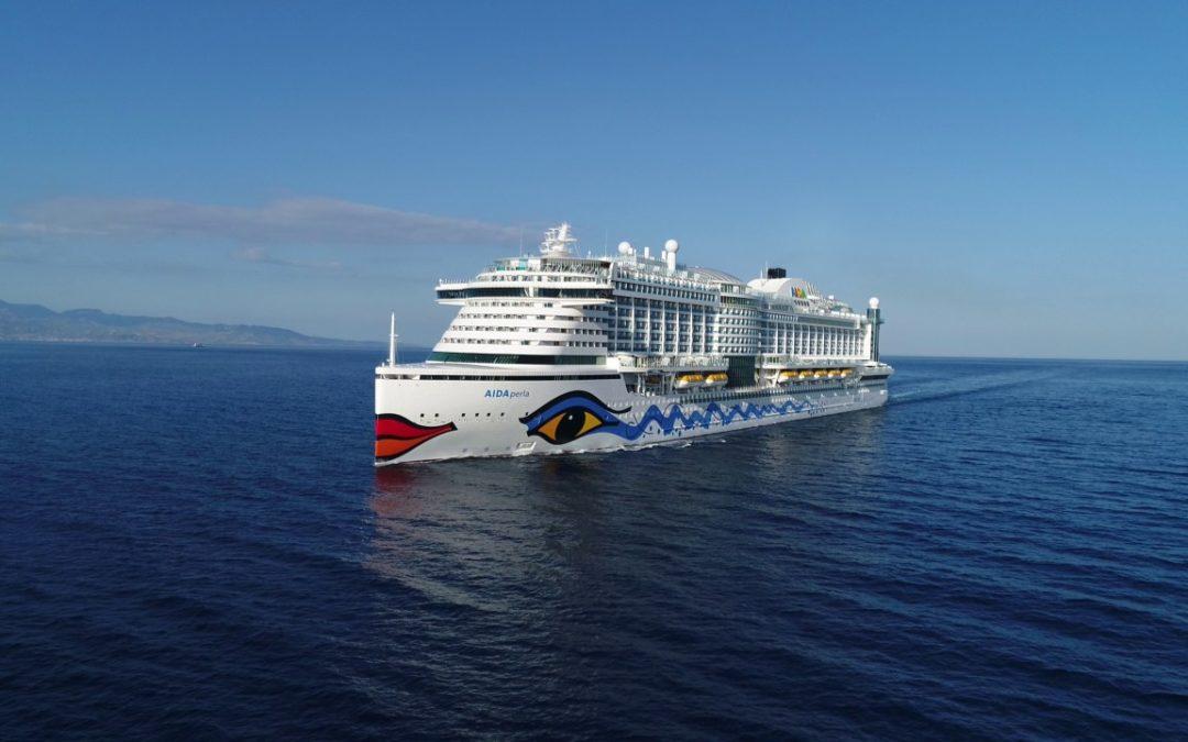 Größtes Batteriespeichersystem der Passagierschiffahrt für AIDAperla
