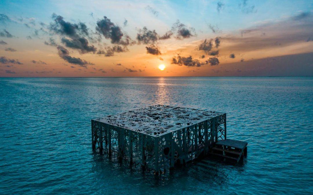 Malediven: Unterwasserkunstinstallation mit neuen Skulpturen