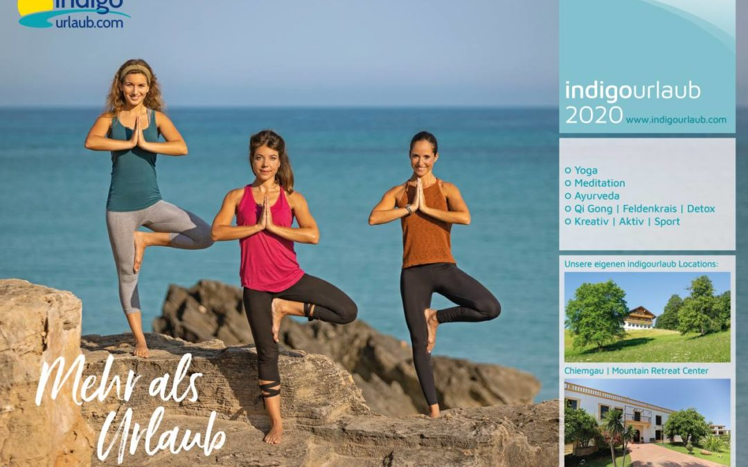 Yoga-Reiseveranstalter Indigourlaub präsentiert Katalog für 2020
