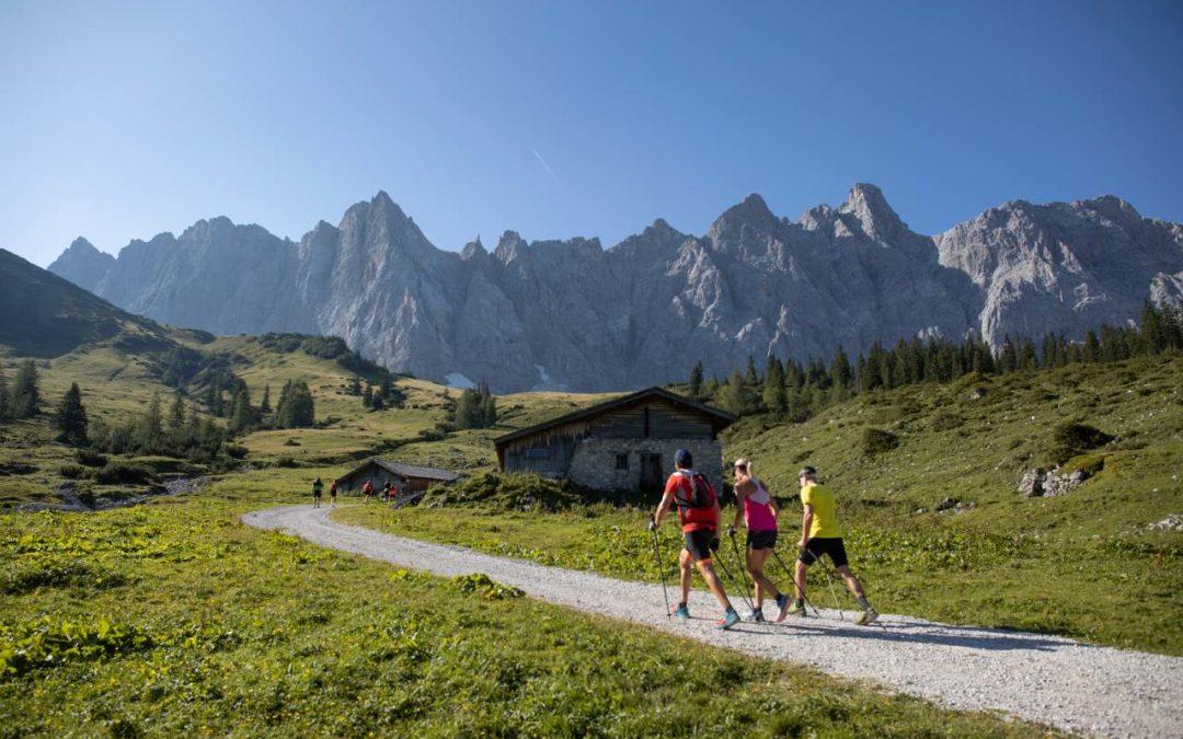 Laura Dahlmeier Siegerin beim Karwendelmarsch 2019