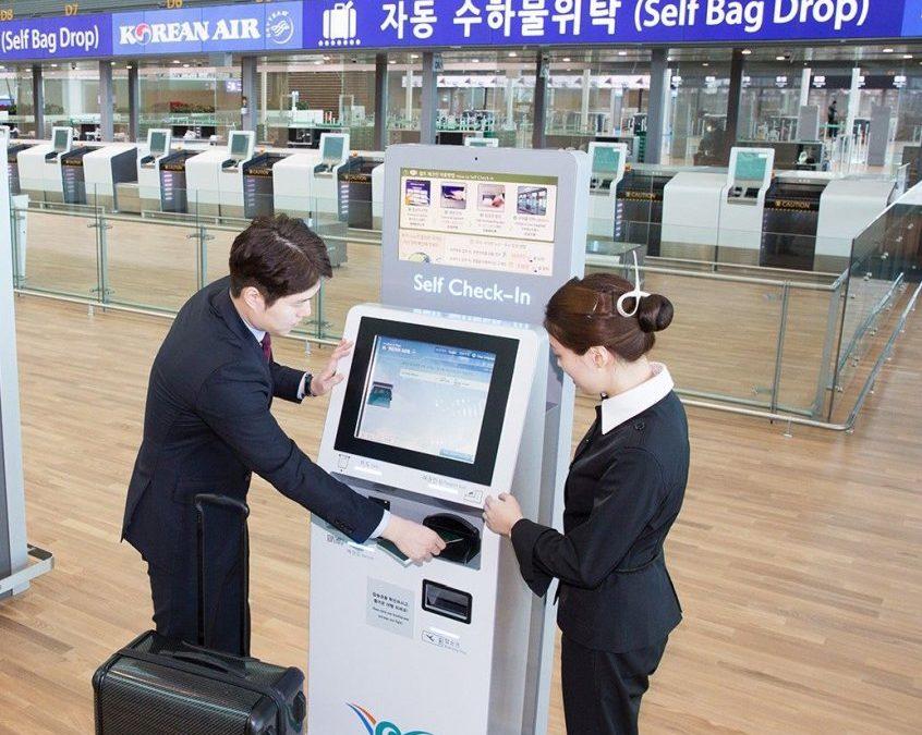 Korean Air: bequemere Gepäckabfertigung für Self-Check-in-Nutzer