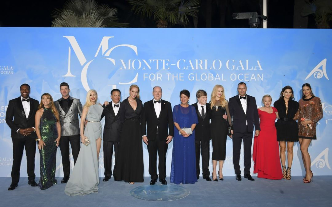 "Internationale Stars bei der ""Monte-Carlo Gala for the Global Ocean 2019"""