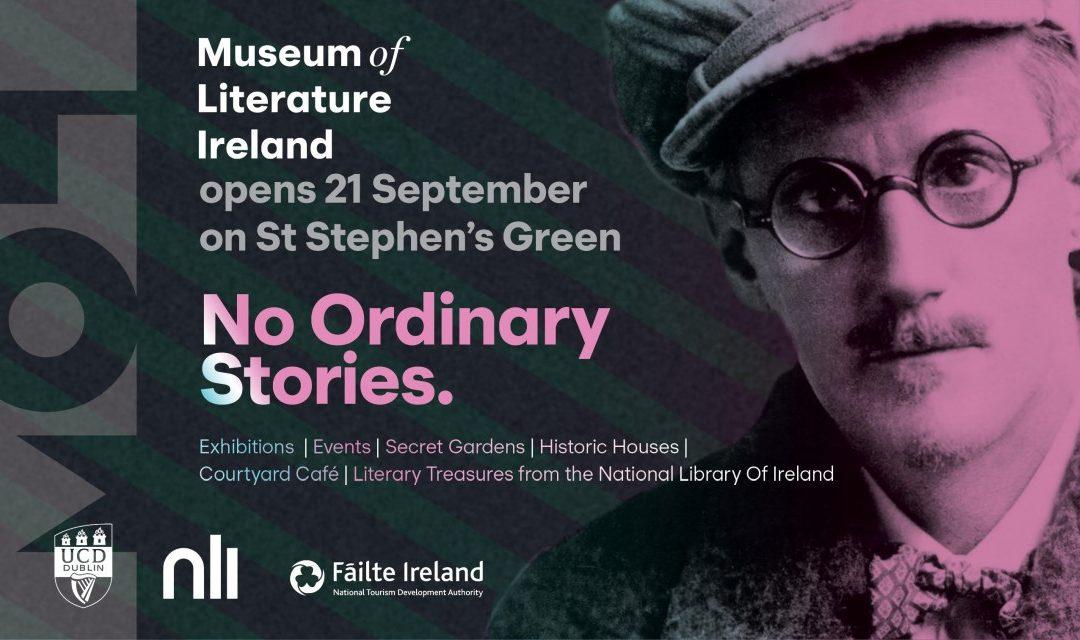 Dublin: Museum of Literature Ireland eröffnet