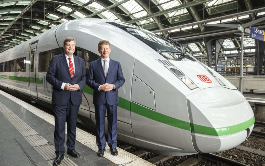 Neues Design für ICE-Züge
