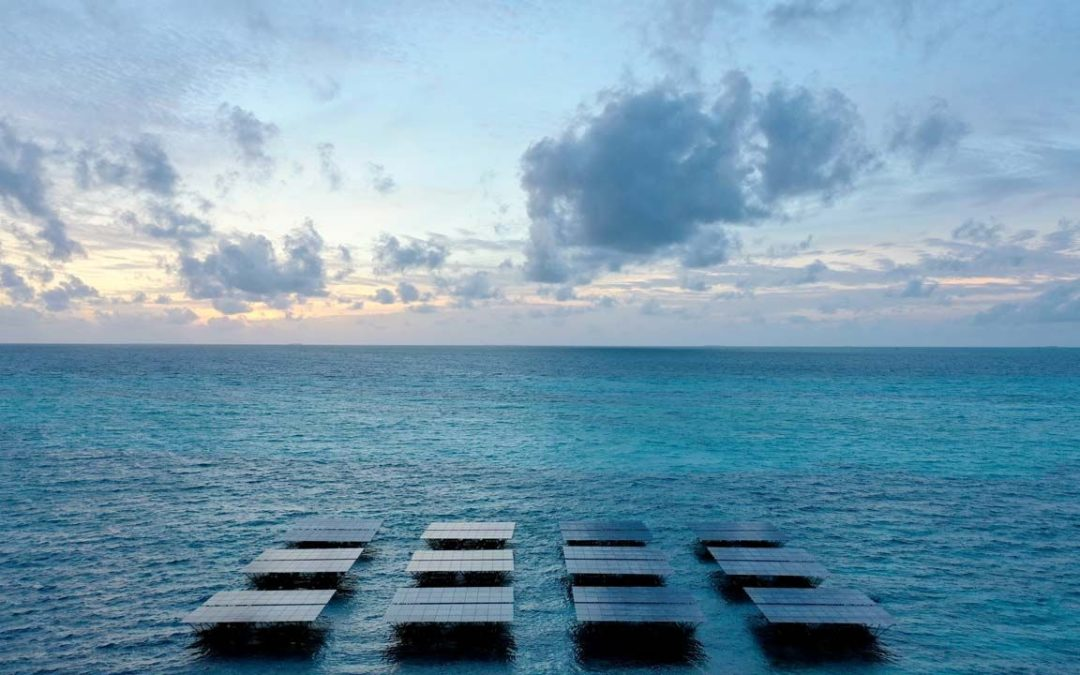 Größte schwimmende Solarstromanlage der Welt steht auf den Malediven