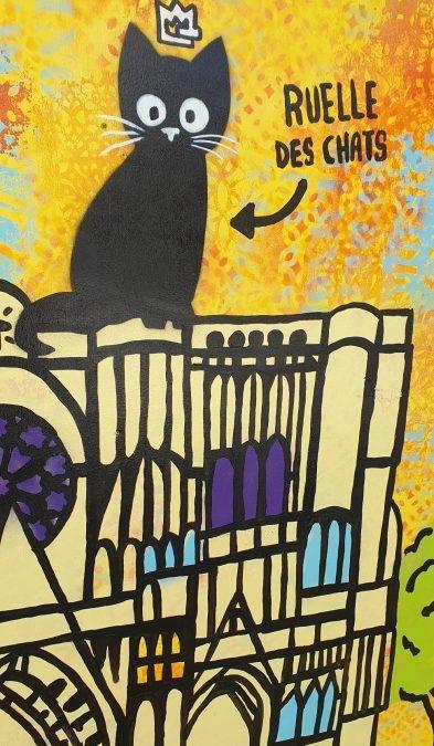 Street-Art im französischen Fachwerkstädtchen Troyes