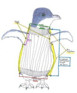 Strickanleitung für Pinguinpullover