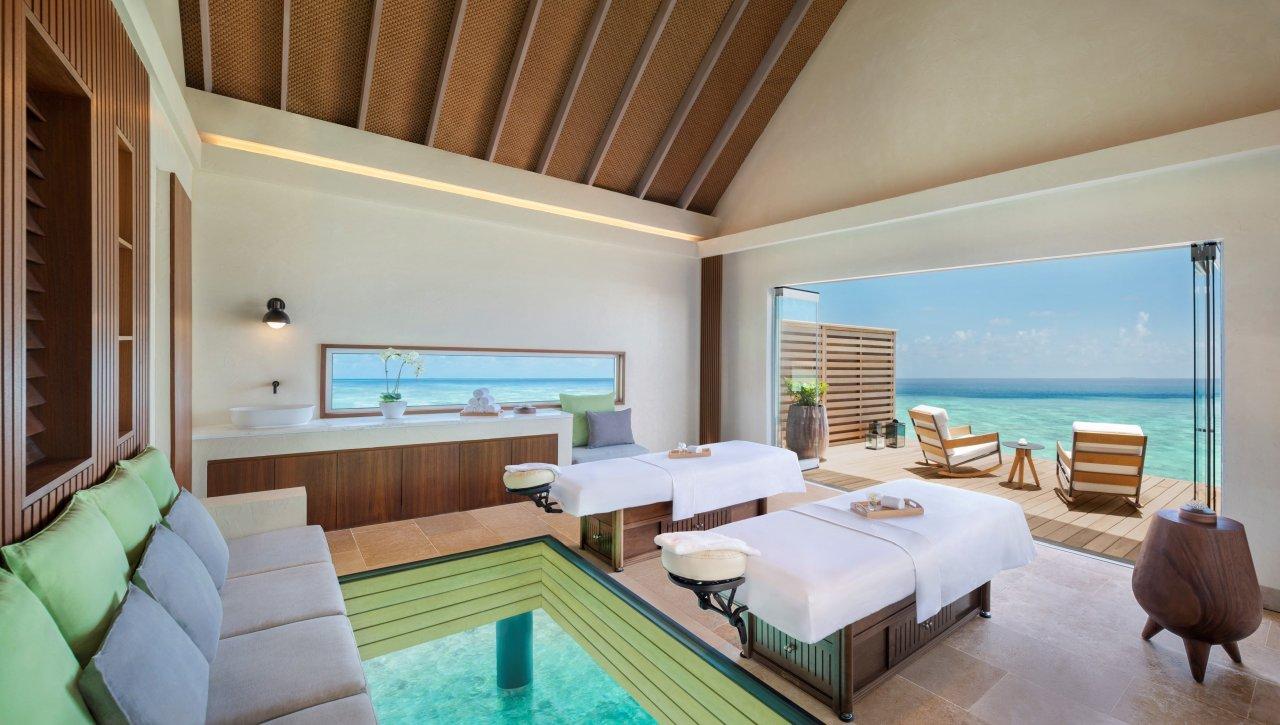 Waldorf Astoria Maldives Ithaafushi Overwater-Treatment-Villa