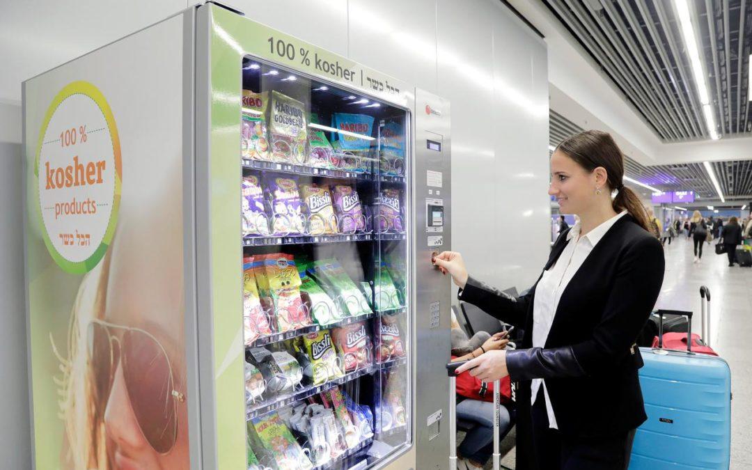 Koschere Lebensmittel am Flughafen Frankfurt