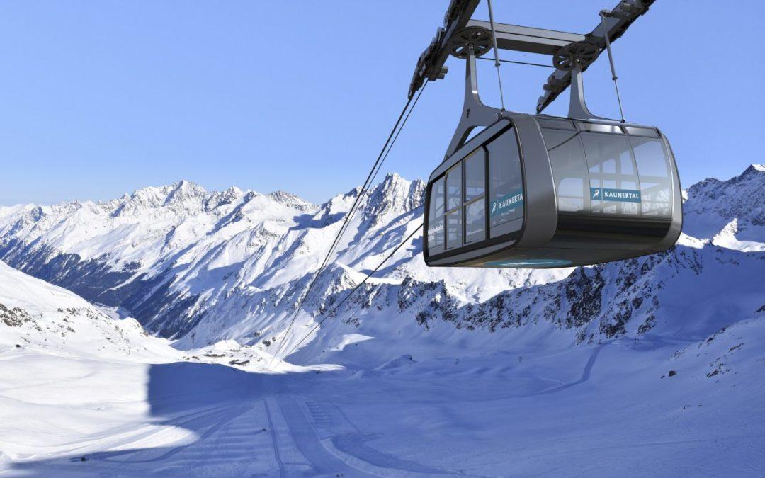 Neue Seilbahn am Kaunertaler Gletscher ersetzt alte Schlepplifte