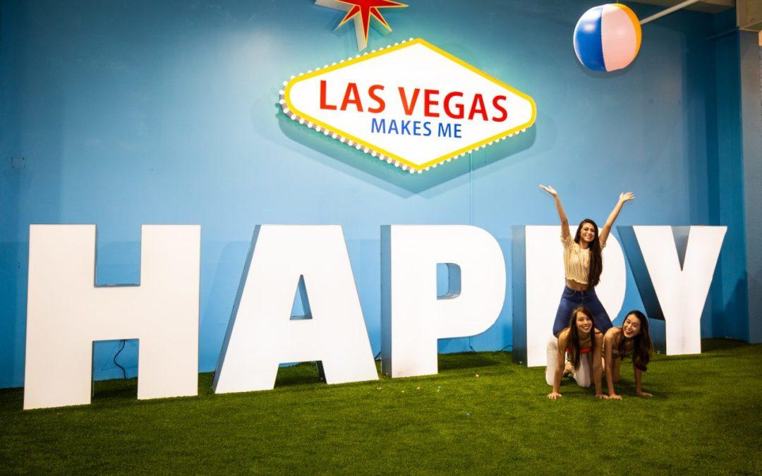 Las Vegas: HAPPY PLACE Pop-Up-Ausstellung im Mandalay Bay Hotel